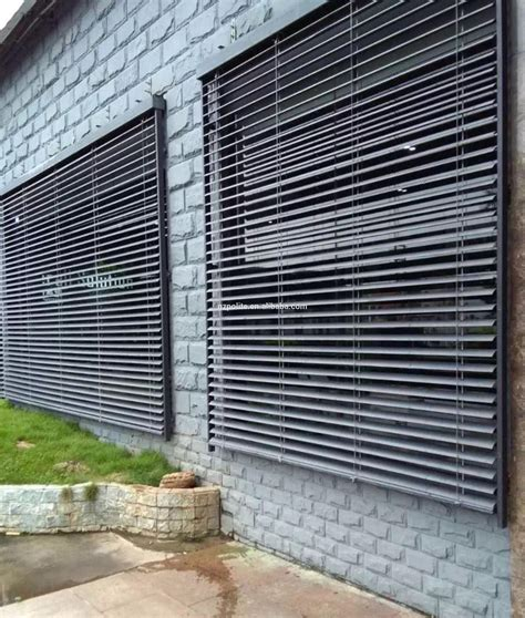 Where Can I Buy Venetian Blinds Pd6200 Outdoor Aluminum Venetian Blinds With 50mm And 80mm