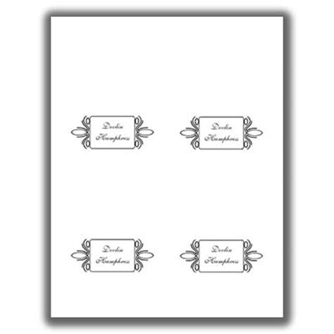 Avery Free Printable Place Card Template by Place Card Template 4