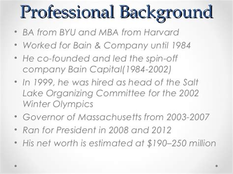 See What Companies Mba Candidates Came From Harvard by Presidential Vp Candidates 2012