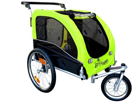 Ultima Stroller Cover Jumbo Size large pet stroller and trailer mb florescent green this is our large size pet stroller and