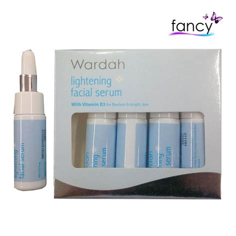 Serum Wardah Whitening wardah lightening serum 5x5ml agen dan