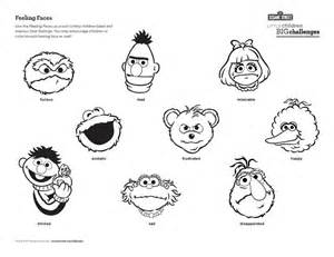 It Is Good To Recognize Our Feelings This Colouring Sheet Feeling Faces Coloring Pages