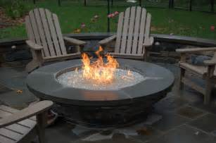 Firepit Glass Choosing The Pit For Your Backyard Outdoor Living With Archadeck Of Chicagoland