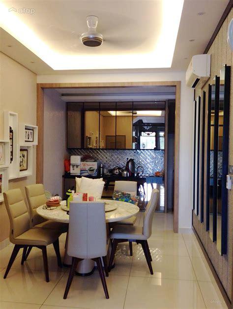 classic modern dining room kitchen semi detached design