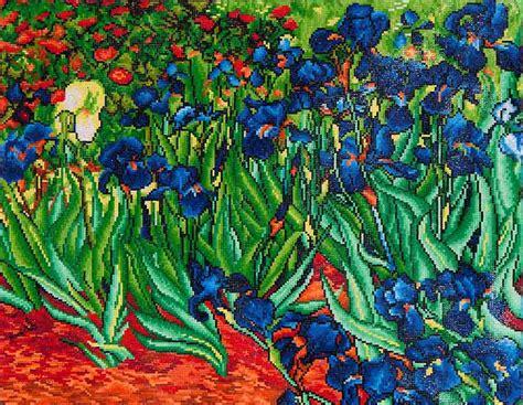 Sepatu Canvas Series Gogh 100 Best Quality irises gogh