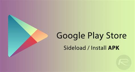 play apk how to and sideload play store 7 6 07 version redmond pie howldb