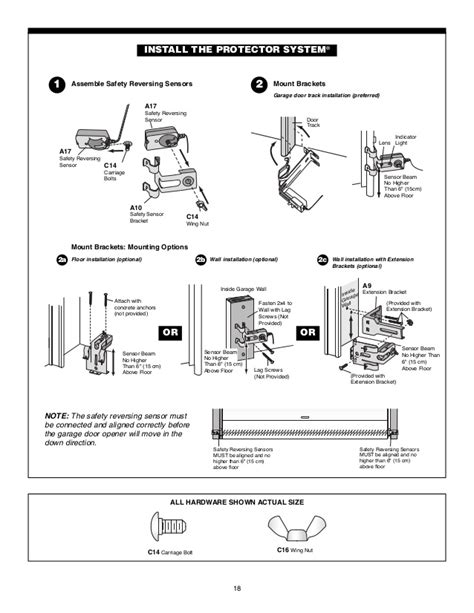 garage door wiring diagram lift master garage door opener