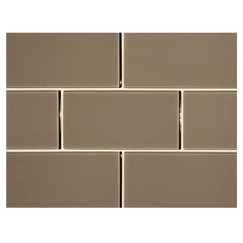 Ceramic Tile For Kitchen Backsplash phenomena glass tile troubador 3 quot x 6 quot subway tile