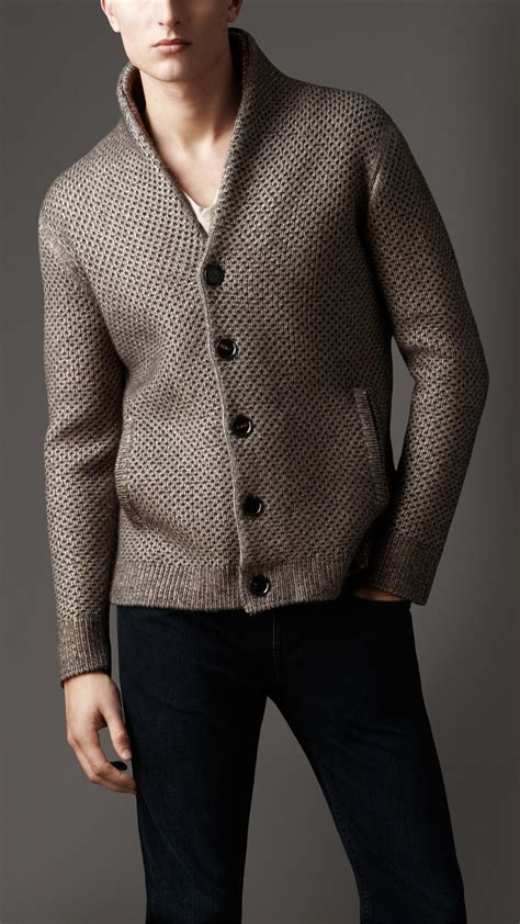 mens knitted cardigan mens sweater knitwear models picture