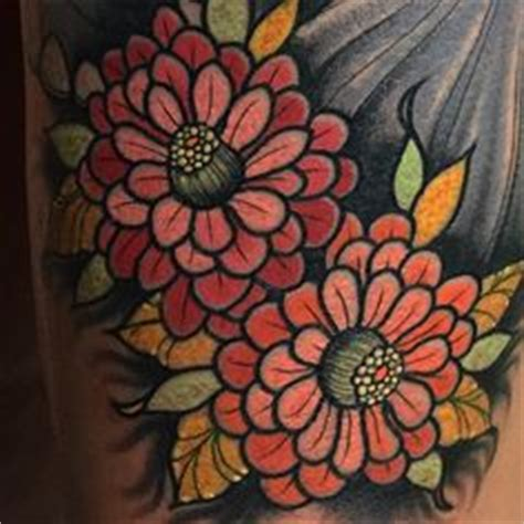 zinnia tattoo designs zinnia floral flower tattoos