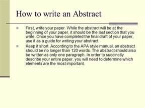 How To Make Paper Presentation Abstract - how to make paper presentation abstract 28 images how