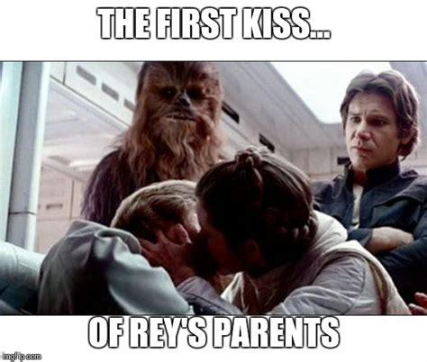 Leia Meme - luke leia kiss imgflip