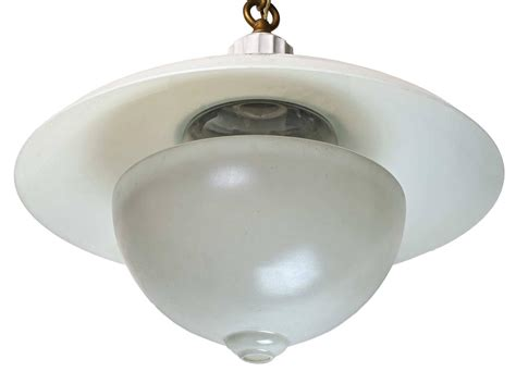 Early American Lighting Fixtures Early American Denzar Two Shade And Enameled Fixture By Beardslee For Sale At 1stdibs