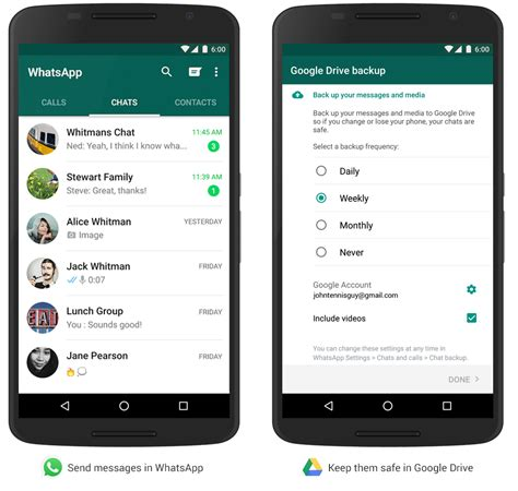 backup whatsapp android backup whatsapp android drive androidworld