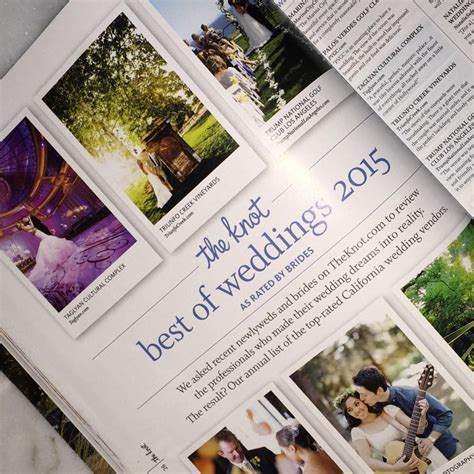 "The Knot Votes Taglyan ""Best Of Weddings"" 2015!"