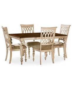 dovewood dining room furniture 5 set table and 4
