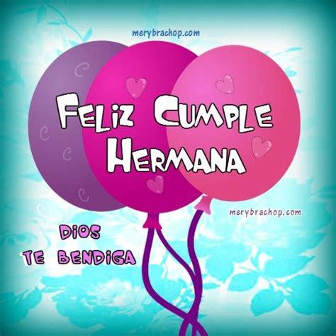 imagenes feliz cumpleaños hermana cristiana tarjetas cristianas de feliz cumplea 241 os para hermana con