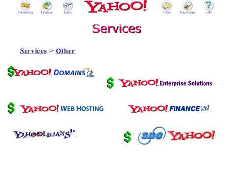 E Business Ppt For Mba by 2002 Mendoza Mba E Commerce Class Presentation On Yahoo