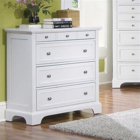 White 4 Drawer Dresser by Home Styles Naples 4 Drawer Chest White Dressers Chest Ebay