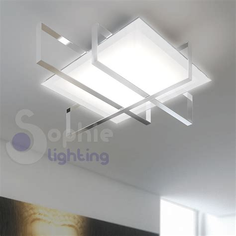 a soffitto design plafoniera soffitto design moderno acciaio cromo