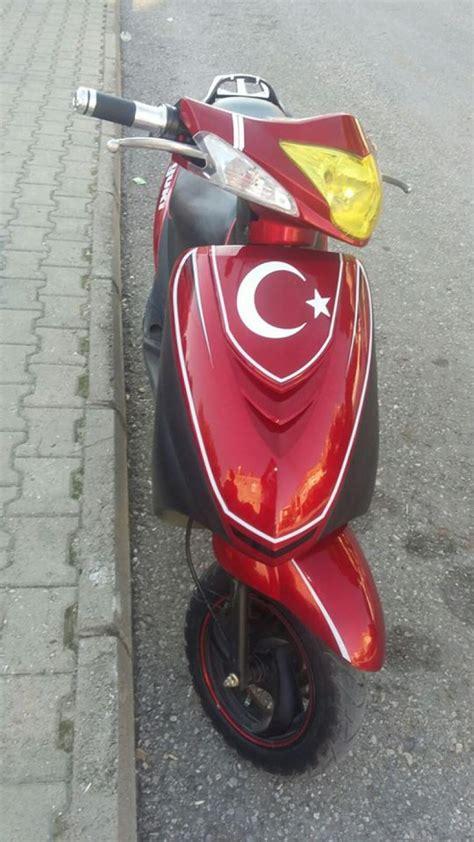 yuki orion yk   temiz bakimli motosiklet skooter