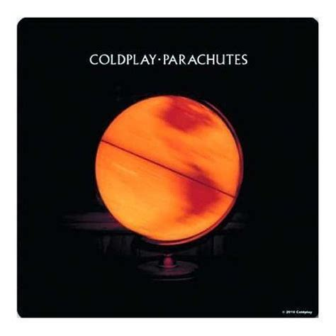 coldplay parachutes coldplay parachutes album cover single drinks coaster gift