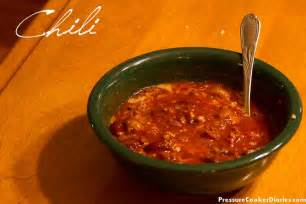 easy chili recipe 8 minutes in your pressure cooker