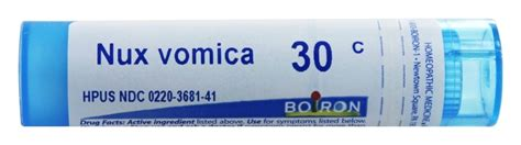 Nux Vomica And Detox Homeopathy by Buy Boiron Nux Vomica 30 C 80 Pellets At Luckyvitamin
