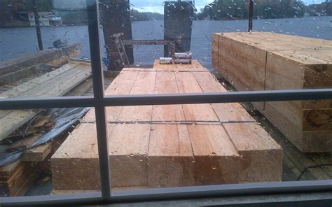 Crib Dock Construction by Replacing Your Dock An Existing Boathouse Muskoka