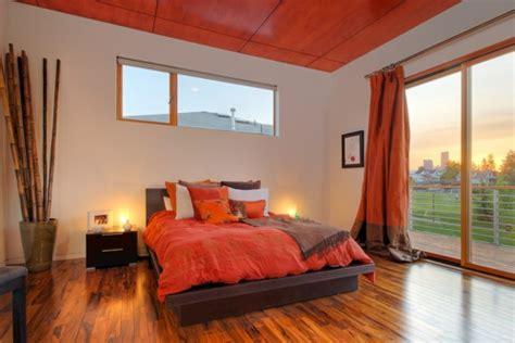Schlafzimmer Orange by 10 Sensationelle Schlafzimmer In Orange Tr 228 Umen In Farbe