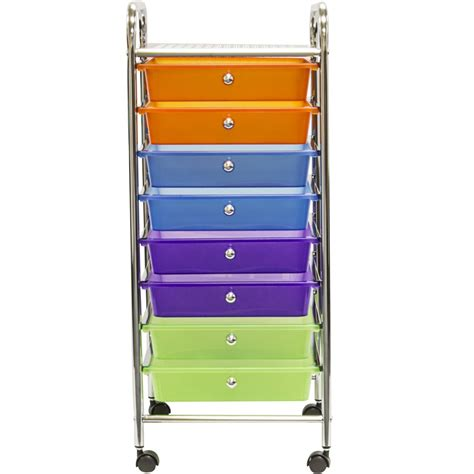 8 drawer ombre rolling cart rolling cart with drawers rolling file cabinet black