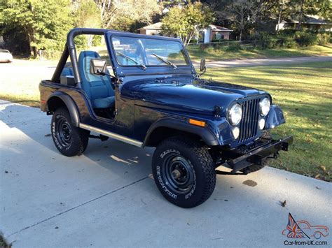 jeep 1980 cj5 1980 jeep cj5 renegade sport utility 2 door 4 2l