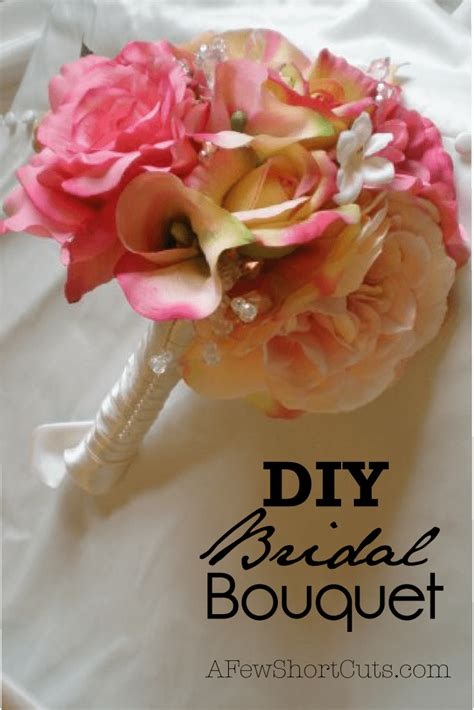 diy how to make a bouquet for a photoshoot green wedding shoes diy bridal bouquet a few shortcuts