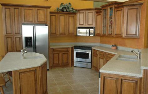 Kitchen In A Cabinet by Glazed Kitchen Cabinet Pictures And Ideas