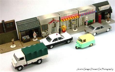 1 64 Scale Garage Diorama by Jovet S Garage Tomica Limited Vintage Diorama
