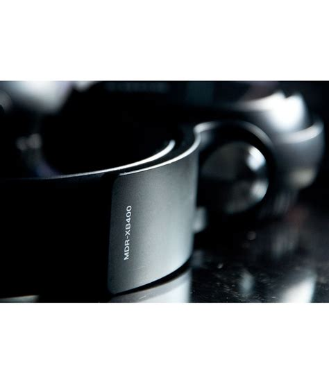 Headset Sony Mdr Xb400 sony mdr xb400 ear headphone black buy rs 1280 snapdeal