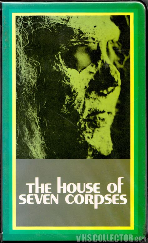 the house of seven corpses the house of seven corpses vhscollector com your analog videotape archive