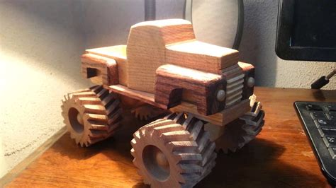 wooden toy  ford monster truck youtube