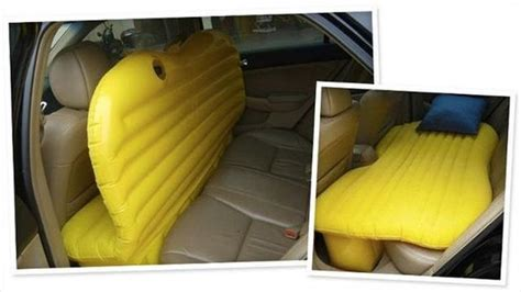 back seat blow up bed cool inventions and gadgets 040 funcage