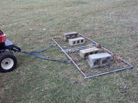 Landscape Rake Vs Chain Harrow Our Tiny Farm In Western Nc Build Your Own Drag Chain