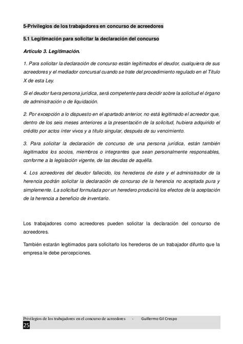 modelo acta notarial de nombramiento de mediador concursal los privilegios de los trabajadores en el concurso de