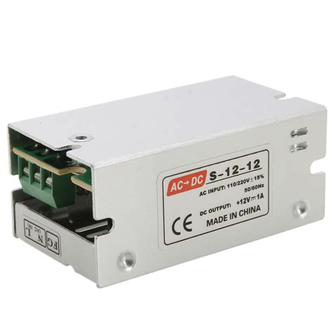 Switching Power Supply Dc Adaptor 20a Generic Quality dc 12v 1a 12w universal regulated switching power supply led cctv psu ebay