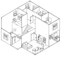 isometric house design isometric drawing house plans house design ideas