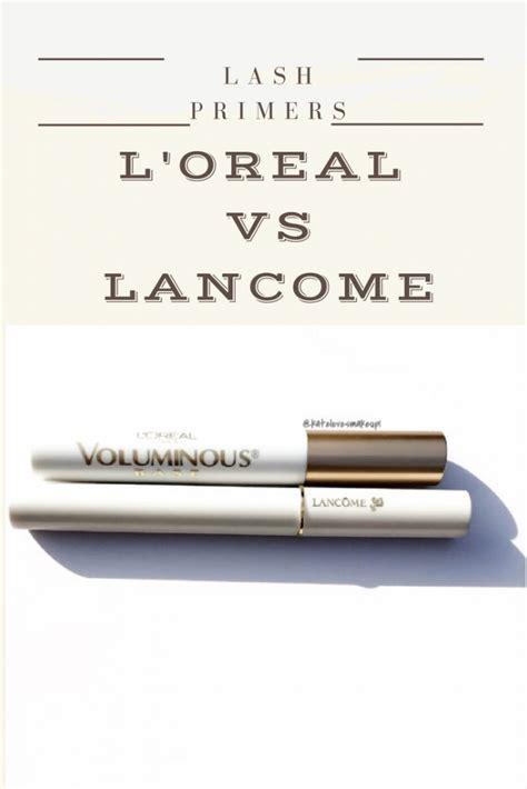 L Oreal Voluminous Primer Mascara lash primers l oreal voluminous vs lancome cils booster
