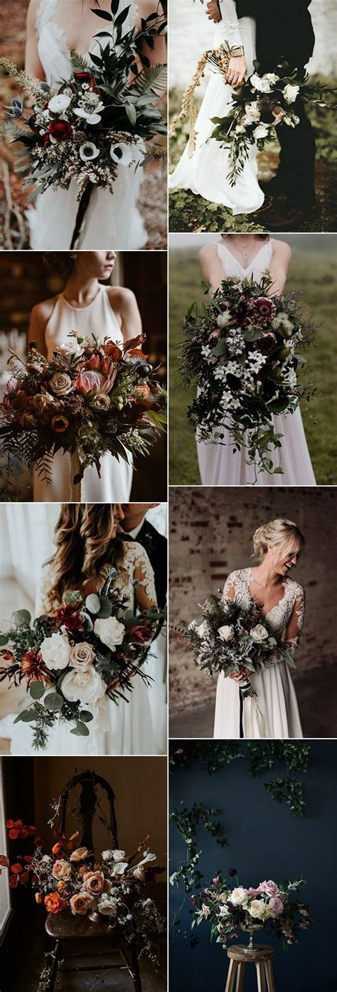Wedding Bouquet Trends 2018 by Top 25 Moody Wedding Bouquets For 2018 Trends Oh Best