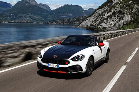 fiat 124 abarth spider specs 2017 2018 autoevolution