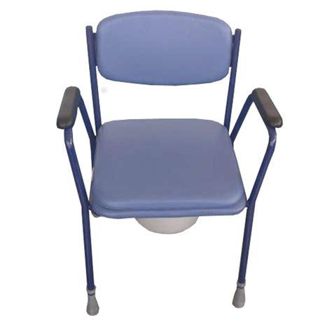 silla tapizada  inodoro regulable en altura ayuda