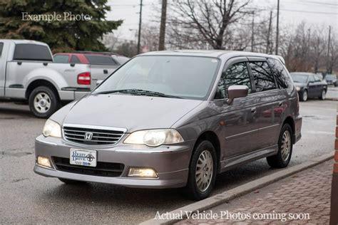 Awd Honda Odyssey by 2000 Honda Odyssey V6 Awd Right Drive