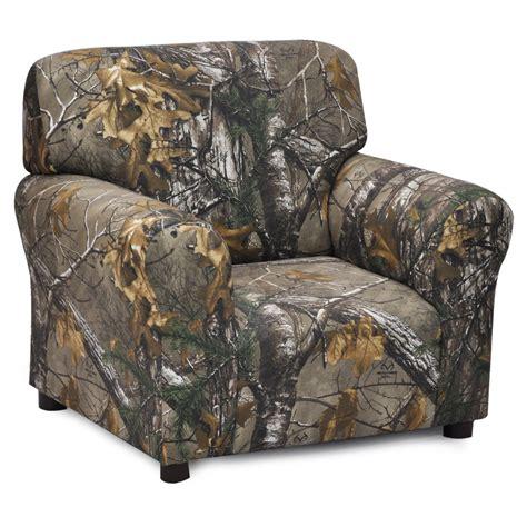 camo kids couch kidz world real tree camouflage club chair kids