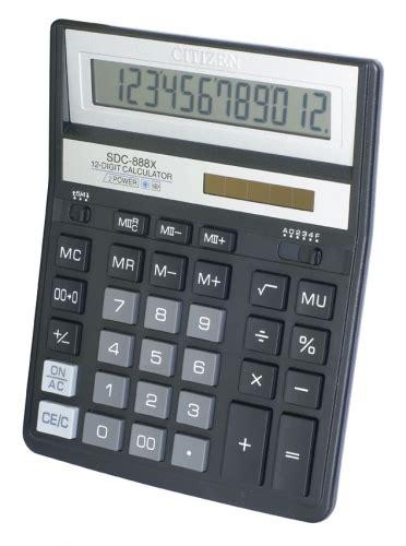 Citizen Kalkulator Sdc 664s kalkulatory